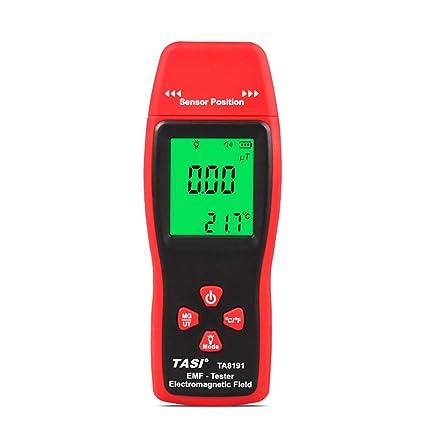 TA8191 Mini LCD Digital Detector de Radiación de Campo Electromagnético Handheld EMF Meter Dosímetro Gauss Tester