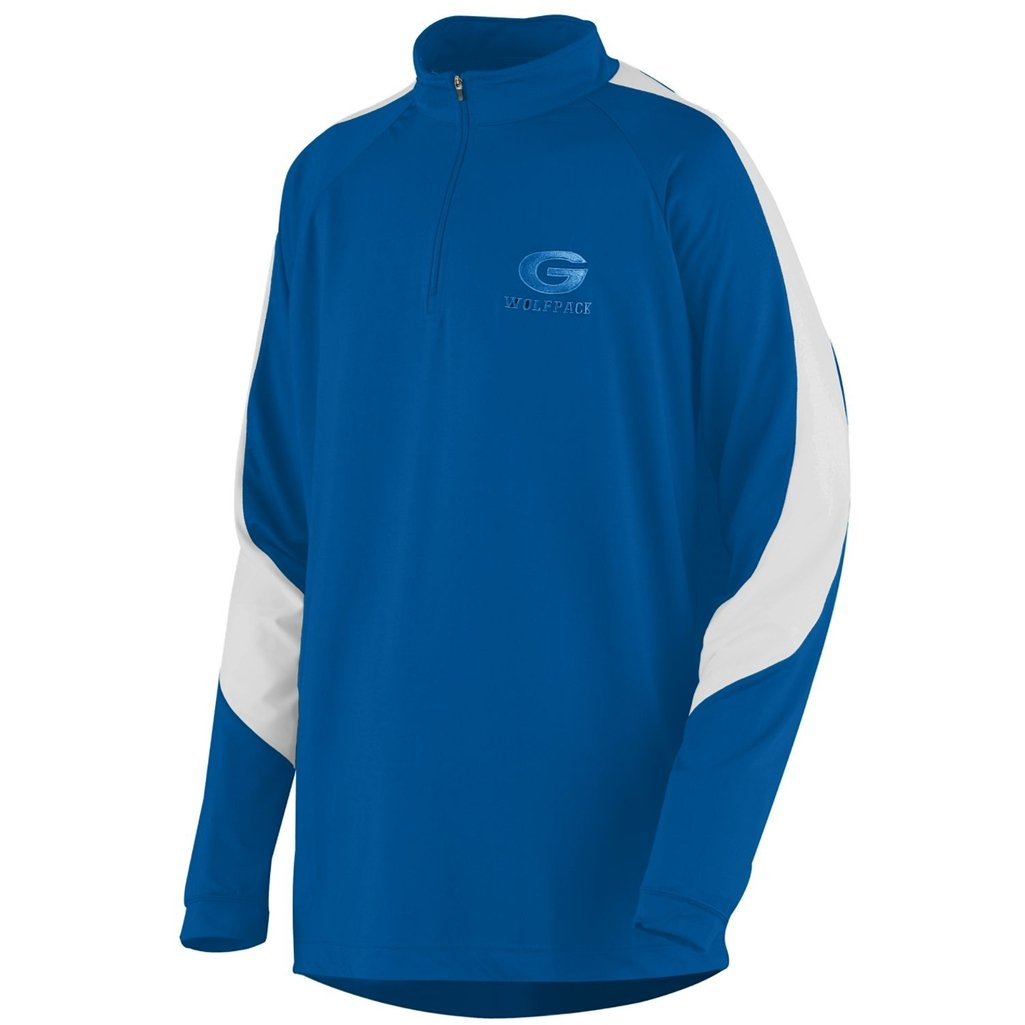 Style 4750 3XL, royal//white Augusta Synergy Pullover