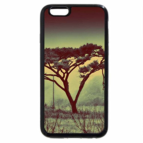 iPhone 6S Case, iPhone 6 Case (Black & White) - The Forgotten Place