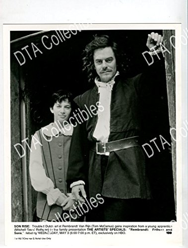 REMBRANDT-8X10 STILL-Fighting-CRIME-MITCHELL DAVID ROTHPAN-TOM MCCAMUS FN