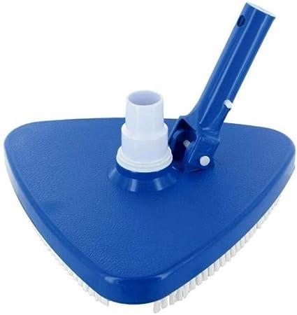 Jardiboutique - Escoba aspiradora triangular para limpieza de fondo de piscina equipada con revestimiento: Amazon.es: Bricolaje y herramientas
