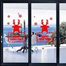 Changeshopping Christmas Snowflake Wall Sticker Decoration Decal Window Stickers Home Decor