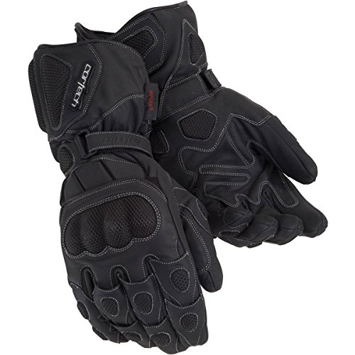 Cortech Men's Scarab 2.0 Winter Motorcycle Gloves (Black, Large) (Cortech Motorcycle Gloves)