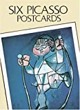 Six Picasso Postcards (Small-Format Card Books)