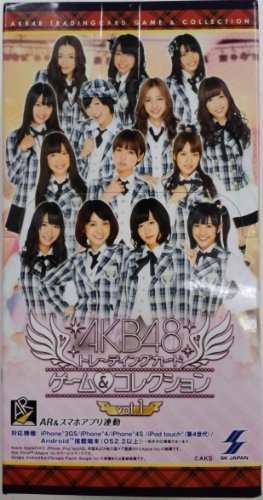 AKB48 Trading Card Game & Collection vol.1 Booster (15packs) by SK Japan (Cards Singles Naruto)