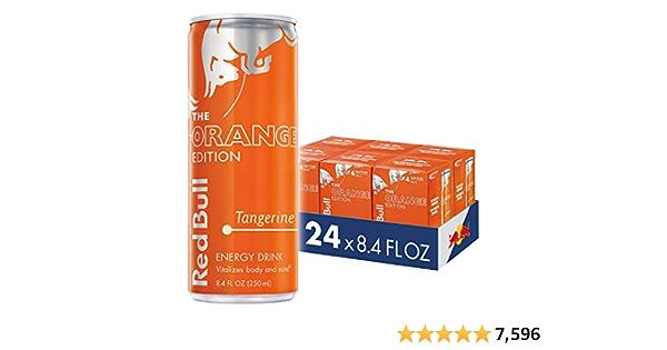 Red Bull Energy Drink 8.4 Fl Oz, Tangerine (24 Count)