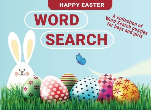 Easter Basket Stuffers for Kids: Word Search Easter Gifts for Boys and Girls