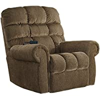 Signature Design by Ashley 9760212 Ernestine Power Lift Recliner, Truffle
