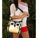 Owl Canvas Cross-body Bag