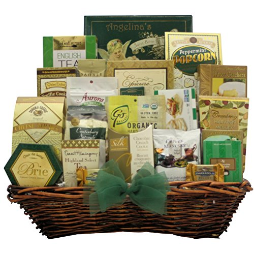 GreatArrivals Gourmet Get Well Wishes! Gift Basket by GreatArrivals Gift Baskets
