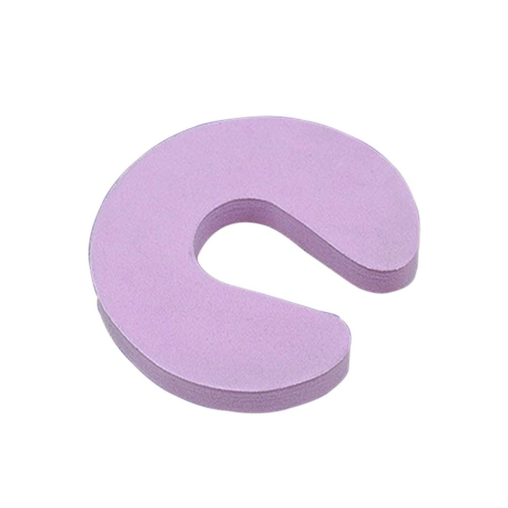 Schaumstoff T/ürstopper aus robustem EVA-Schaumstoff Finger Klemmschutz Baby Kindersicherung 4 x Klemmschutz f/ür T/üren