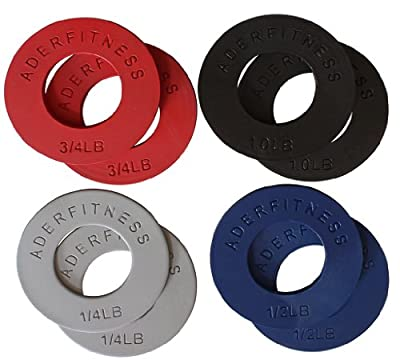 Ader Fitness Olympic Fractional Plates - 5 LB Set from Ader Sporting Goods