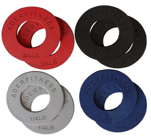 Ader Fitness Olympic Fractional Plates - 5 LB Set by Ader Sporting Goods