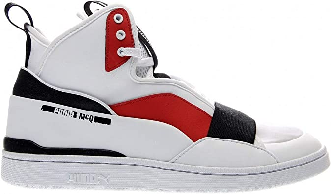 Black White /& Red Replacement Flat Trainer shoe laces for Alexander Mcqueen/'s