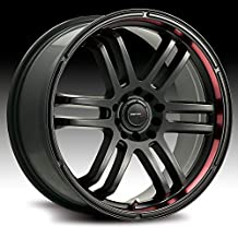 Drifz FX 17x7.5 Black Wheel / Rim 5x110 & 5x115 with a 38mm Offset and a 73.00 Hub Bore. Partnumber 207B-7754338 by Drifz