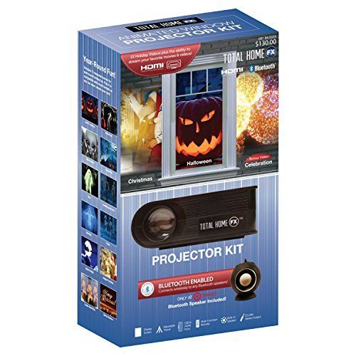 Total Home FX Animated LED Window Projector Kit by Total Home