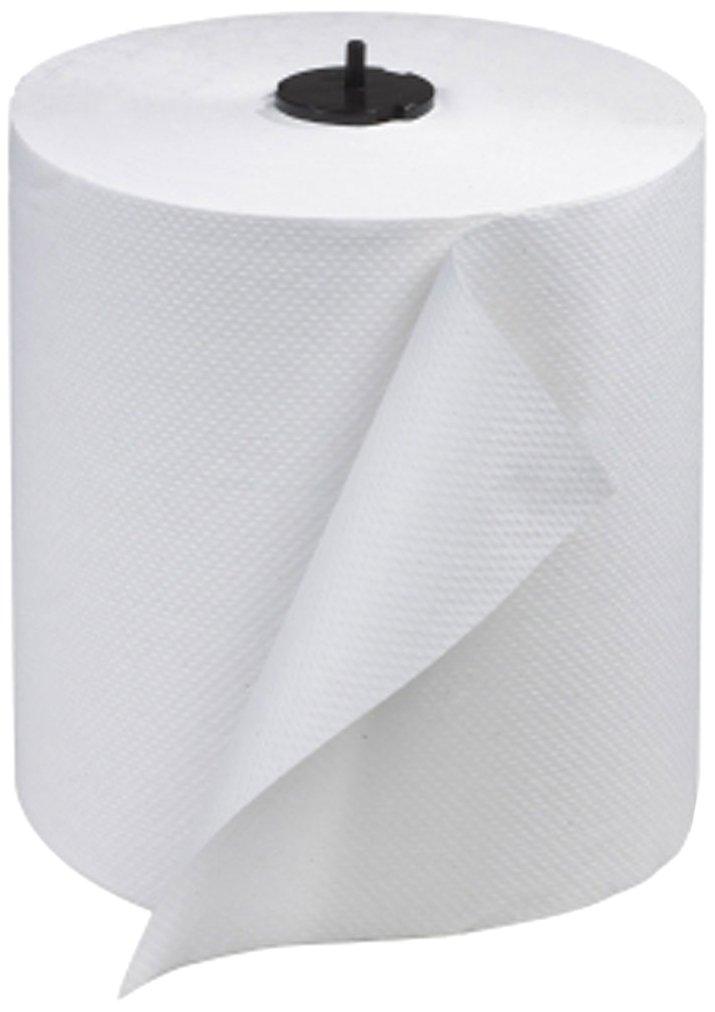 Tork 290089 Advanced Single-Ply Hand Roll Towel, White