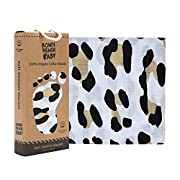 Baby Swaddle Blanket – Wild Design – 100% Organic – Cotton Muslin by Bondi Beach Baby