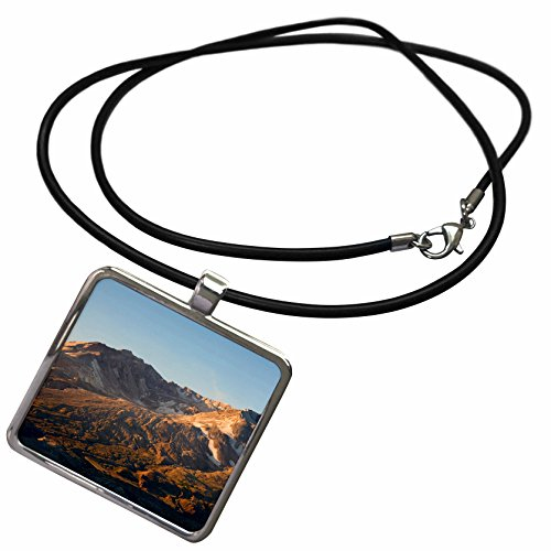 (3dRose Danita Delimont - Mountains - Mt St Helens Crater with Lava Dome, Mountain - US48 JWI0884 - Jamie and Judy Wild - Necklace with Rectangle Pendant)