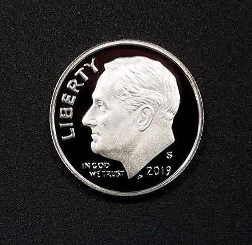 2019 S PROOF Roosevelt Dime GEM DCAM US Mint ()