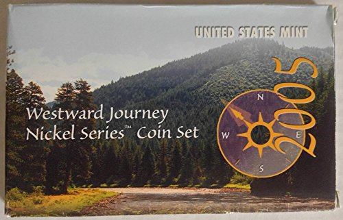 2005 Various Mint Marks Westward Journey Nickel Series Coin Set Brilliant Uncirculated