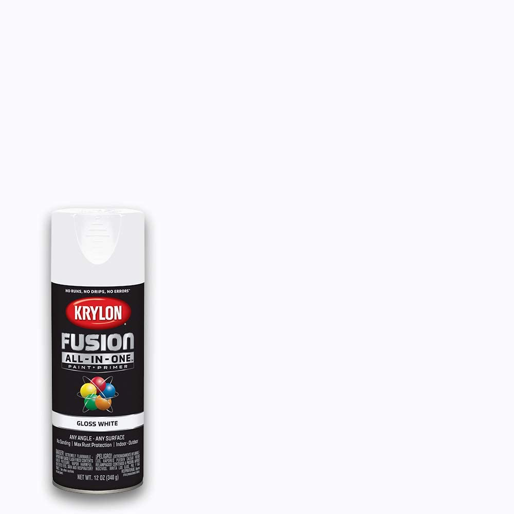Krylon K02727007 Fusion All-In-One Spray Paint, White