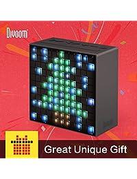 Divoom Timebox   Altavoz LED portátil con Bluetooth y control APP, con animación, notificación y alarma L Negro