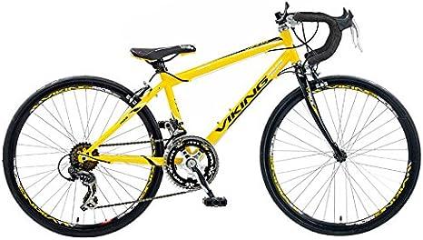 Viking Race Pro - Bicicleta de Carretera para Hombre, Ruedas de 24 ...