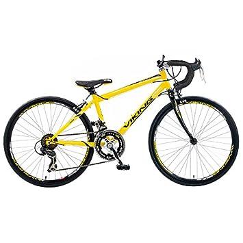 "Viking Race Pro - Bicicleta de Carretera para Hombre, Ruedas de 24"", Cuadro"