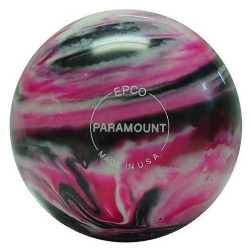 Paramount B0093U52A6 Marbleized Candlepin Bowling ball-マゼンタ/ブラック/ホワイト 4 oz. Ball Ball Set at 4 1/2 inch- 2lbs. 7 oz. B0093U52A6, Branding Labo:321a28df --- gamenavi.club