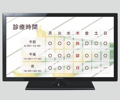三菱電機8-9953-04カンタンサイネージ(お手軽電子看板DSMシリーズ)40インチ B07BD361BB