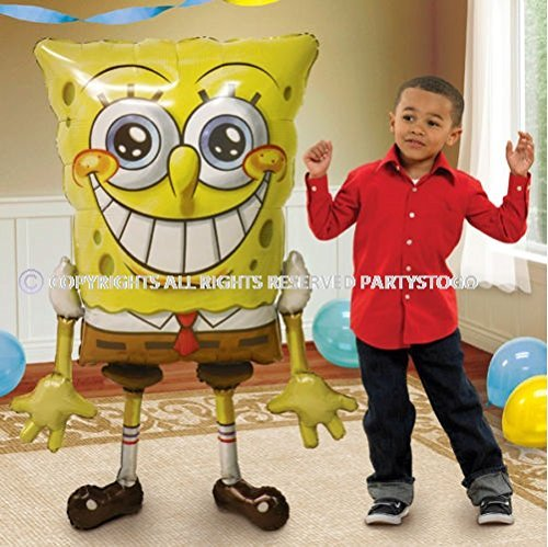 Anagram Spongebob Birthday Party Balloon AIRWALKER 46