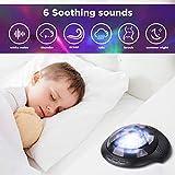 Night Light Projector Sound Machine - Aurora