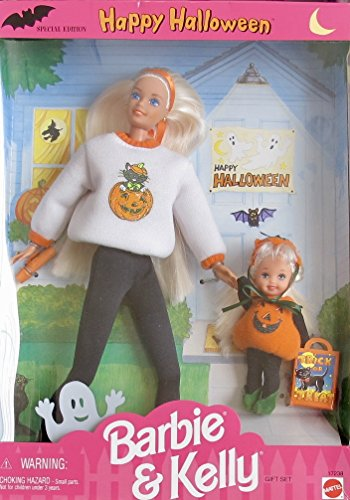 [Happy Halloween BARBIE & KELLY DOLL Gift Set SPECIAL EDITION (1996)] (Barbie Halloween Outfit)
