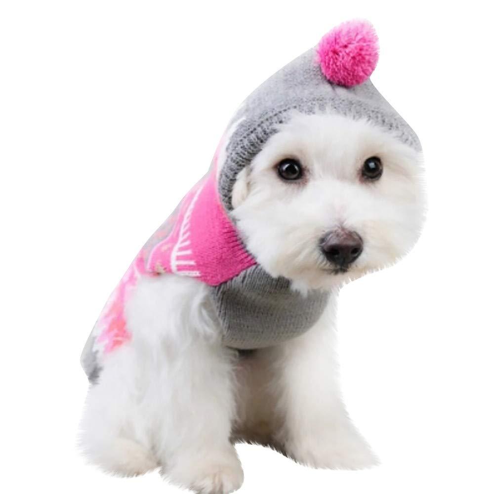Ropa para Mascotas de Navidad, Gusspower Sudadera con ...