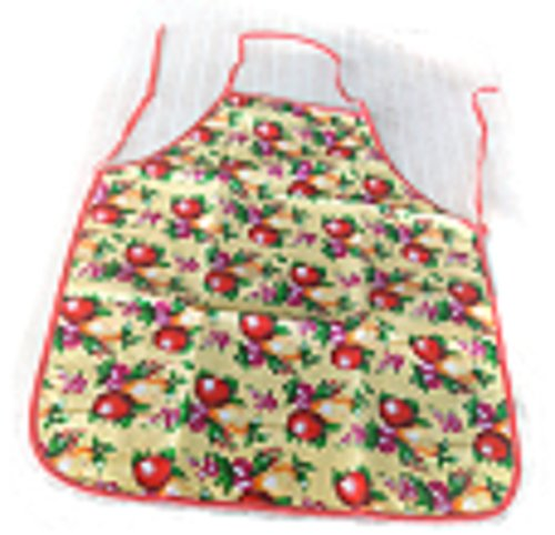 Home Depot Homer Costumes (Putticha Lady Girl Kitchen Cooking Apron Flower Printed Waterproof Anti-oil Kitchen Large Size Polyester Houshold Cooking Accessories)