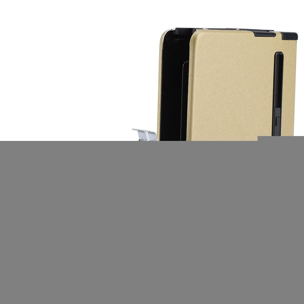 Caja de Almacenamiento de Cigarrillos autom/ática con Soporte de Caja de Metal m/ás Ligero a Prueba de Viento Incorporado para Cigarrillos Zyyini 2 en 1 Caja de Cigarrillos de Metal 1# Velas