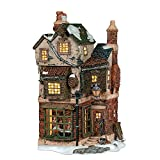 #4: Department 56 Dickens' Village Cratchits Corner Lit Building