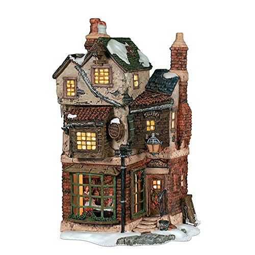 - Department 56 Dickens' Village Cratchits Corner Lit Building