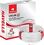 Havells Lifeline Cable 0.75 sq mm wire (White)
