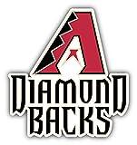 Arizona Diamond Backs MLB Baseball Combo Logo Art Decor Vinyl Sticker 4'' X 5''