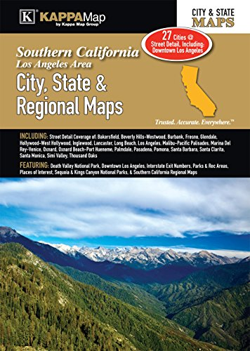 - Southern California - Los Angeles Area City, State & Regional Maps