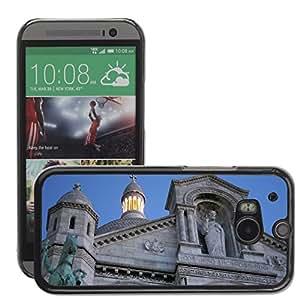 Hot Style Cell Phone PC Hard Case Cover // M00170547 Paris Sacr?? Coeur Basilica // HTC One M8