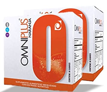2-pack Omnilife OML Plus (OmniPlus) Multivitamin Complex - Multiple Flavors (Orange