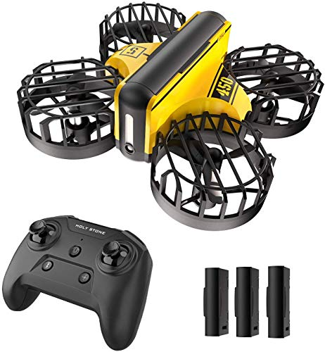 Holy Stone HS450 Mini Drone for Kids Beginners – Hand Operated Nano Quadcopter with Altitude Hold, Throw to Go, Obstacle…
