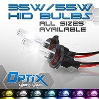 Optix 35W 55W HID Xenon Replacement Bulbs - 1 pair - 880 5202 9004 9005 9006 9007 H1 H3 H4 H7 H8 H9 H10 H11 H13