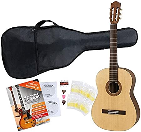Yamaha C40 M Guitarra clásica de estudio (Incluida funda): Amazon ...