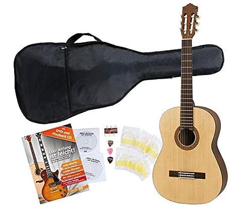 Yamaha C40 M Guitarra clásica de estudio (Incluida funda)
