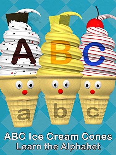 ABC Ice Cream Cones - Learn the - Cream Alphabet