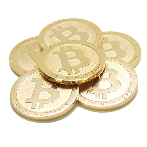 The Original Bitcoin Commemorative Collectors Coin (Fine Gold Coin)